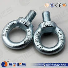 DIN 580 Electro Galvanizing Lifting Eye Bolt Steel Rope